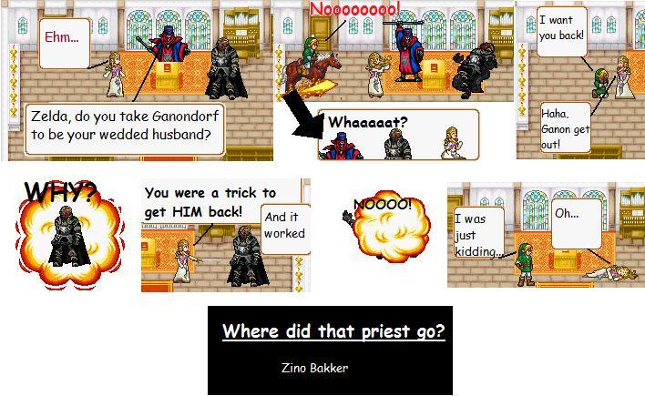 Comic 1 Zelda 39s Wedding 28th Aug 2009 1014 AM in The Legend of Zelda